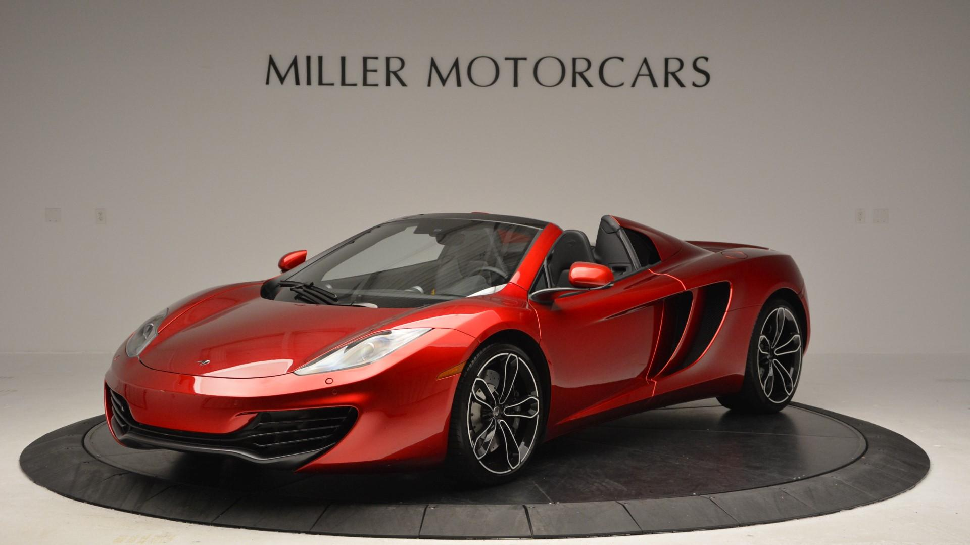 Used 2013 McLaren 12C Spider for sale Sold at McLaren Greenwich in Greenwich CT 06830 1