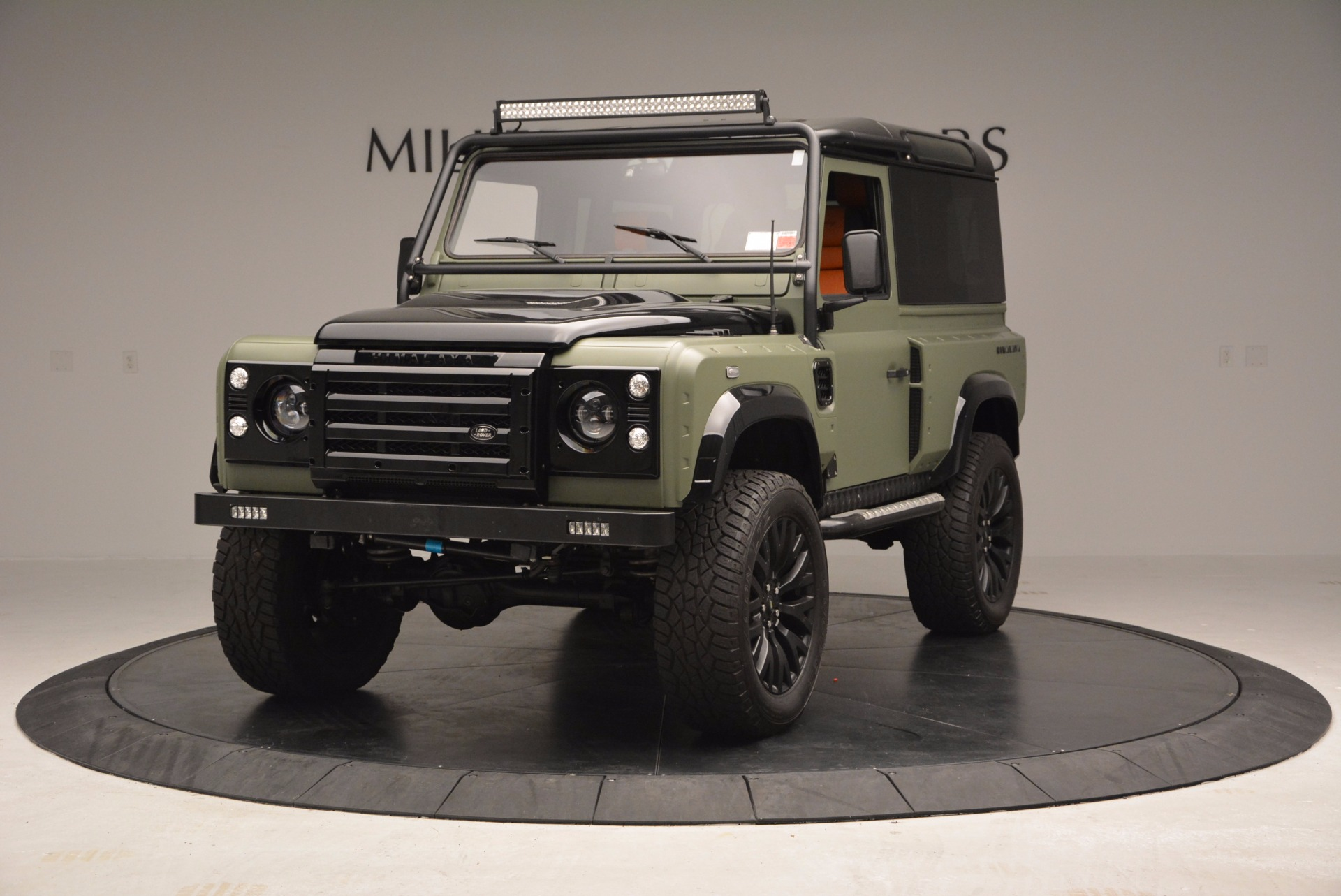 Used 1997 Land Rover Defender 90 for sale Sold at McLaren Greenwich in Greenwich CT 06830 1