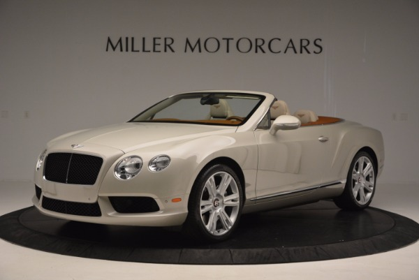 Used 2013 Bentley Continental GTC V8 for sale Sold at McLaren Greenwich in Greenwich CT 06830 2