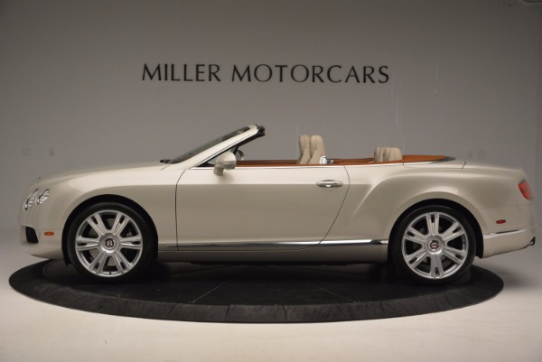 Used 2013 Bentley Continental GTC V8 for sale Sold at McLaren Greenwich in Greenwich CT 06830 3
