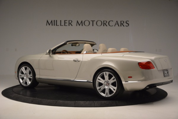 Used 2013 Bentley Continental GTC V8 for sale Sold at McLaren Greenwich in Greenwich CT 06830 4