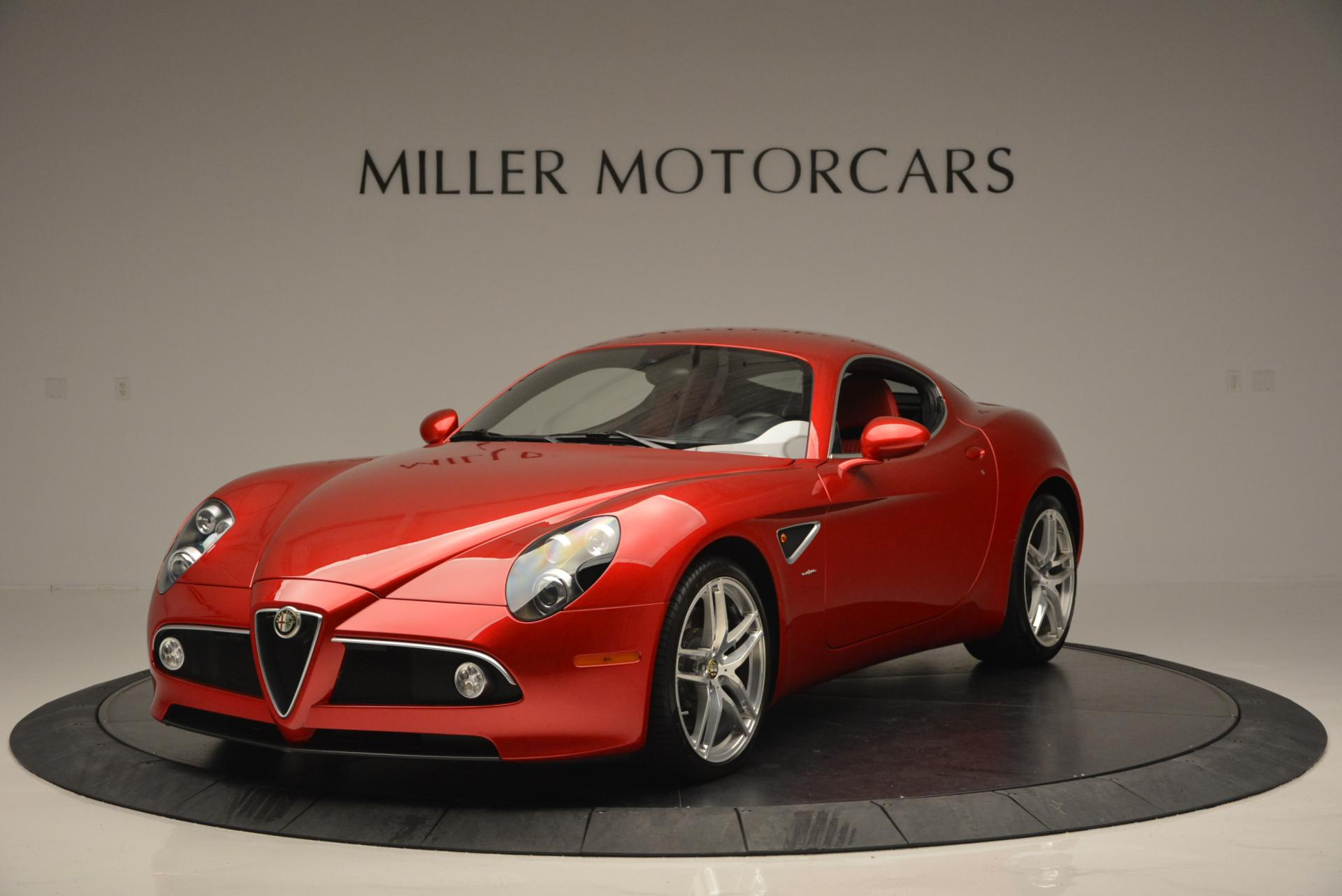 Used 2008 Alfa Romeo 8C for sale Sold at McLaren Greenwich in Greenwich CT 06830 1