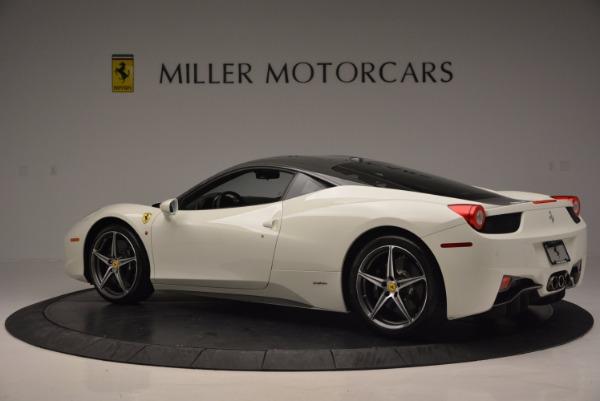 Used 2012 Ferrari 458 Italia for sale Sold at McLaren Greenwich in Greenwich CT 06830 4