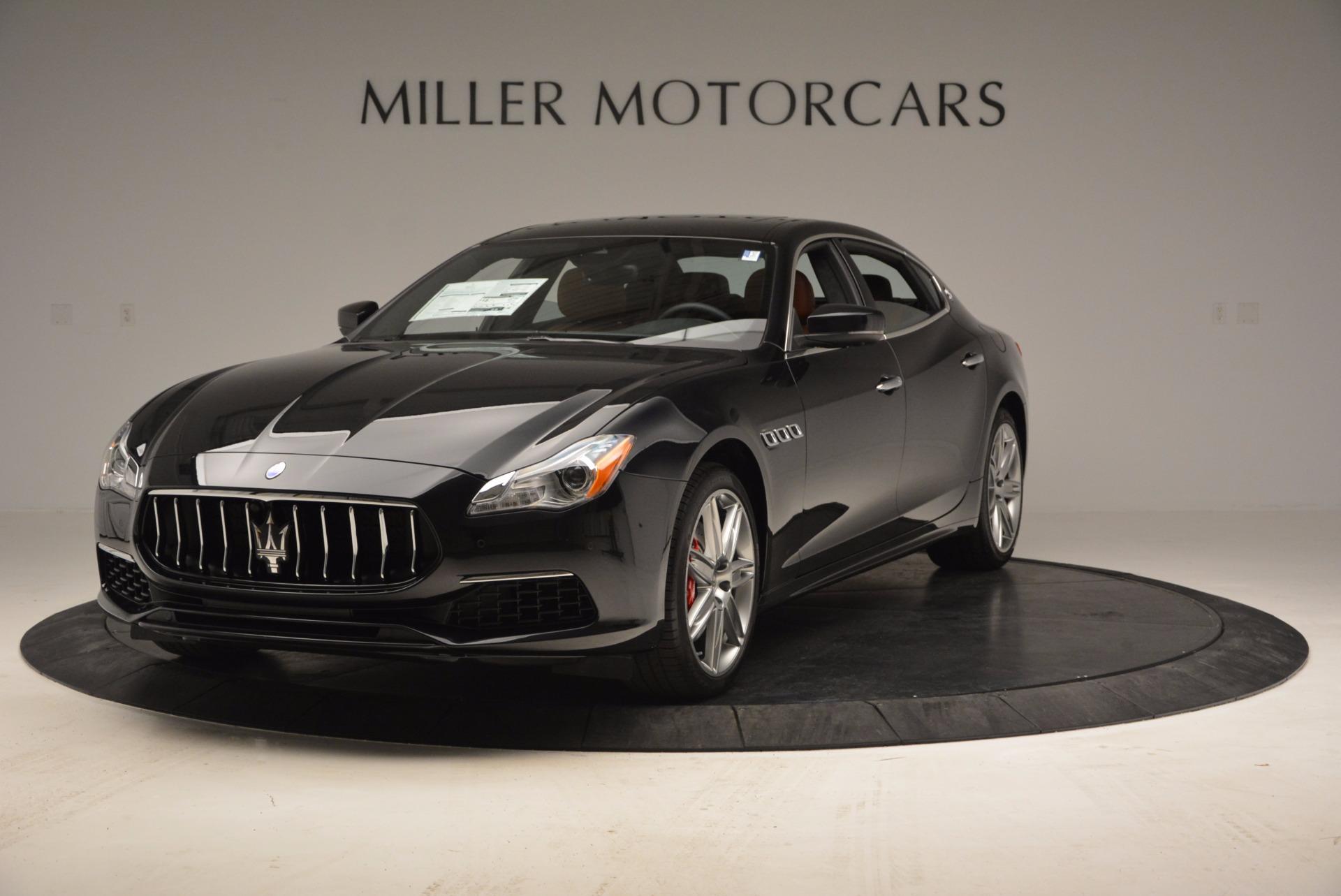 New 2017 Maserati Quattroporte S Q4 GranLusso for sale Sold at McLaren Greenwich in Greenwich CT 06830 1
