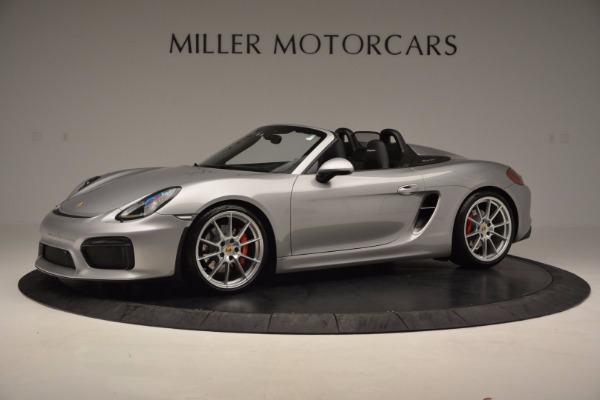 Used 2016 Porsche Boxster Spyder for sale Sold at McLaren Greenwich in Greenwich CT 06830 2