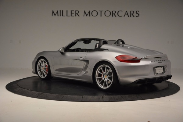 Used 2016 Porsche Boxster Spyder for sale Sold at McLaren Greenwich in Greenwich CT 06830 4