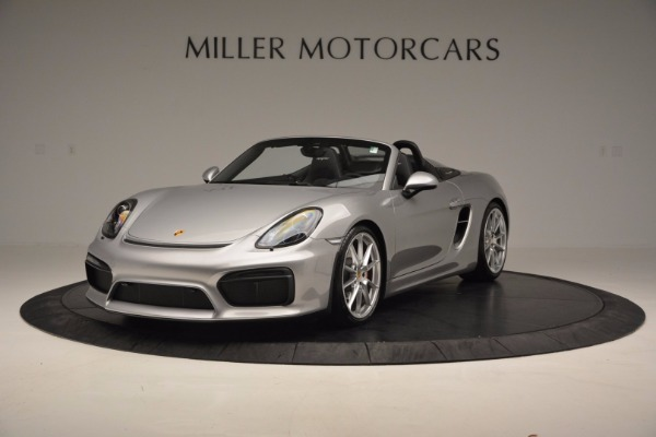 Used 2016 Porsche Boxster Spyder for sale Sold at McLaren Greenwich in Greenwich CT 06830 1