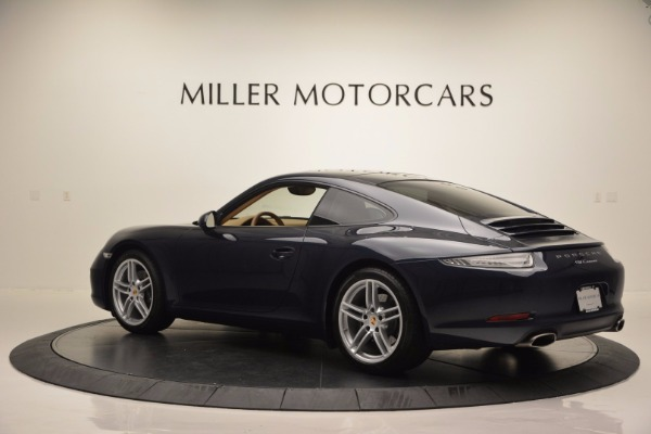 Used 2014 Porsche 911 Carrera for sale Sold at McLaren Greenwich in Greenwich CT 06830 4