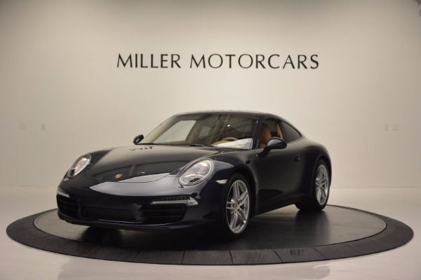 Used 2014 Porsche 911 Carrera for sale Sold at McLaren Greenwich in Greenwich CT 06830 1