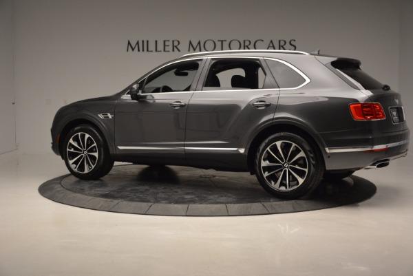 New 2017 Bentley Bentayga for sale Sold at McLaren Greenwich in Greenwich CT 06830 4