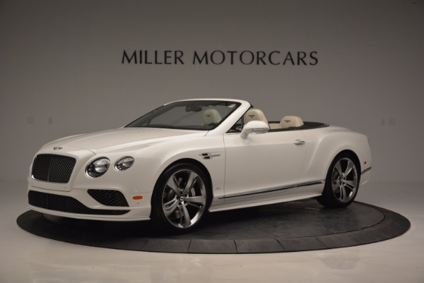 New 2017 Bentley Continental GT Speed Convertible for sale Sold at McLaren Greenwich in Greenwich CT 06830 2