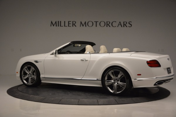 New 2017 Bentley Continental GT Speed Convertible for sale Sold at McLaren Greenwich in Greenwich CT 06830 4