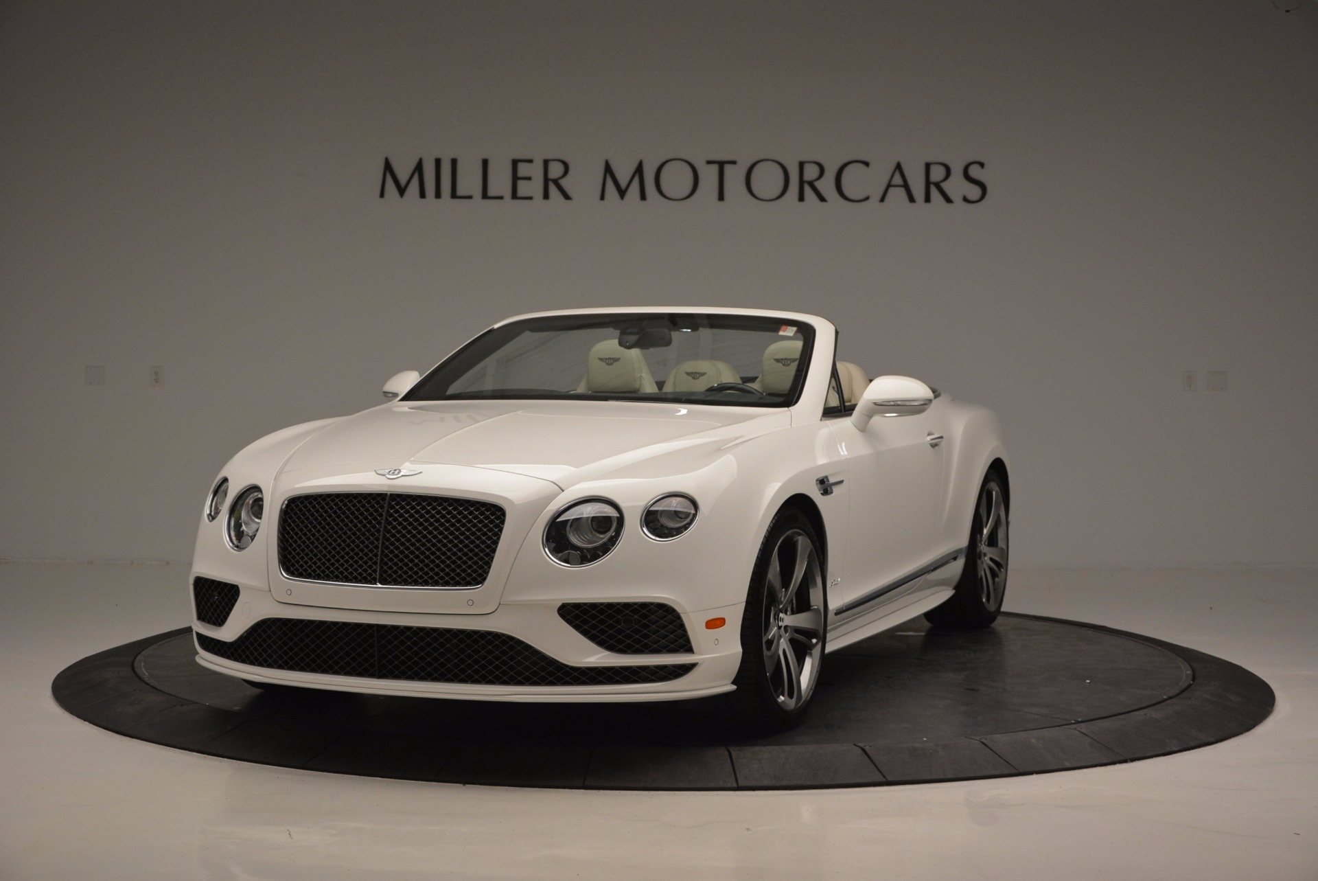 New 2017 Bentley Continental GT Speed Convertible for sale Sold at McLaren Greenwich in Greenwich CT 06830 1