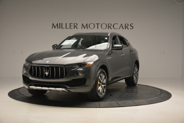Used 2017 Maserati Levante S Ex Service Loaner for sale Sold at McLaren Greenwich in Greenwich CT 06830 1