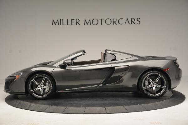 Used 2016 McLaren 650S SPIDER Convertible for sale Sold at McLaren Greenwich in Greenwich CT 06830 3