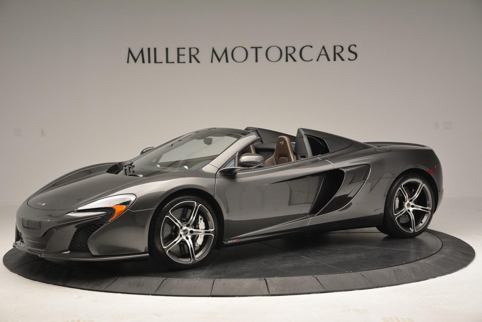 Used 2016 McLaren 650S SPIDER Convertible for sale Sold at McLaren Greenwich in Greenwich CT 06830 1