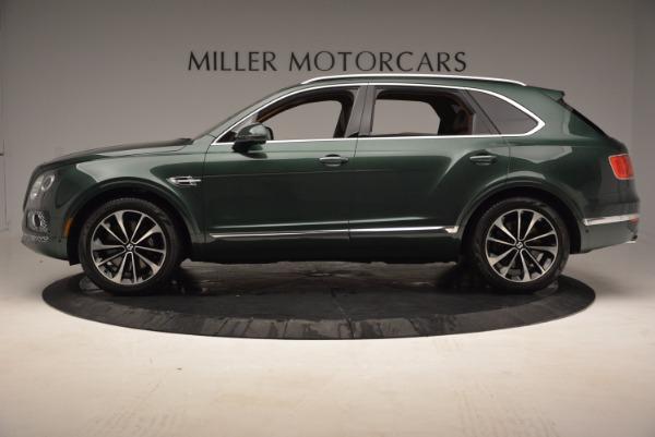 New 2017 Bentley Bentayga for sale Sold at McLaren Greenwich in Greenwich CT 06830 3