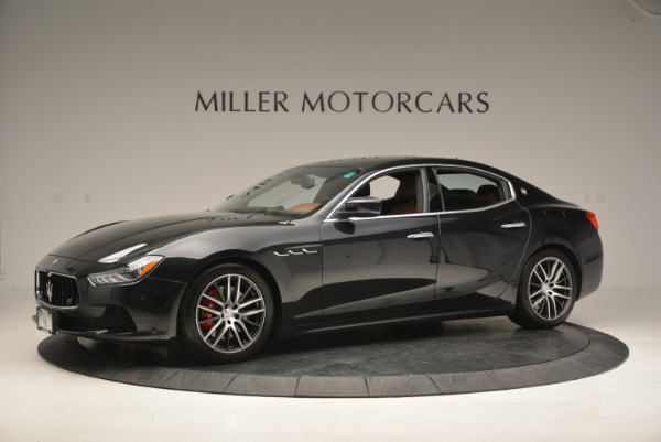Used 2014 Maserati Ghibli S Q4 for sale Sold at McLaren Greenwich in Greenwich CT 06830 2