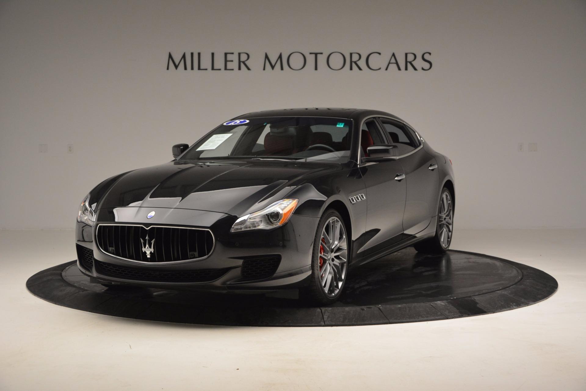 Used 2015 Maserati Quattroporte S Q4 for sale Sold at McLaren Greenwich in Greenwich CT 06830 1