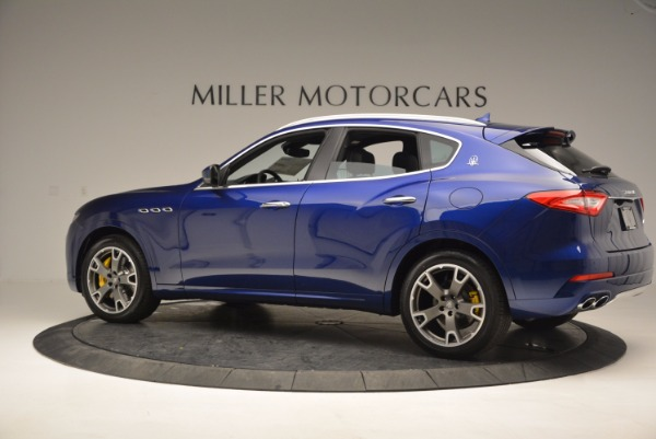 New 2017 Maserati Levante S Q4 for sale Sold at McLaren Greenwich in Greenwich CT 06830 4
