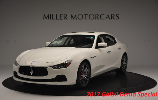 Used 2017 Maserati Ghibli S Q4 for sale Sold at McLaren Greenwich in Greenwich CT 06830 2