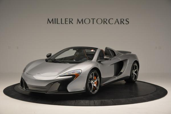 Used 2016 McLaren 650S SPIDER Convertible for sale Sold at McLaren Greenwich in Greenwich CT 06830 2