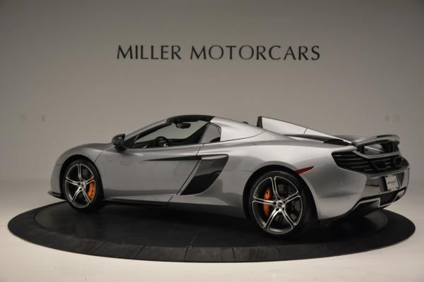 Used 2016 McLaren 650S SPIDER Convertible for sale Sold at McLaren Greenwich in Greenwich CT 06830 4