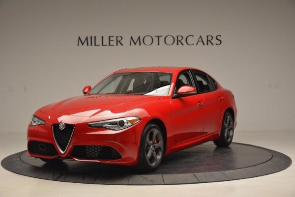 New 2017 Alfa Romeo Giulia for sale Sold at McLaren Greenwich in Greenwich CT 06830 1