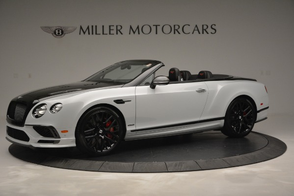 New 2018 Bentley Continental GT Supersports Convertible for sale Sold at McLaren Greenwich in Greenwich CT 06830 2