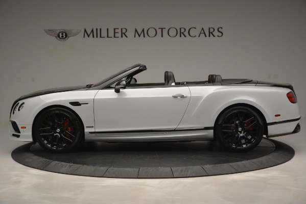 New 2018 Bentley Continental GT Supersports Convertible for sale Sold at McLaren Greenwich in Greenwich CT 06830 3
