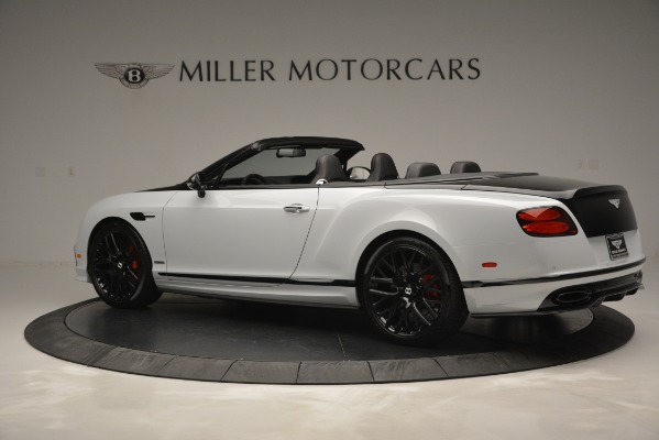 New 2018 Bentley Continental GT Supersports Convertible for sale Sold at McLaren Greenwich in Greenwich CT 06830 4