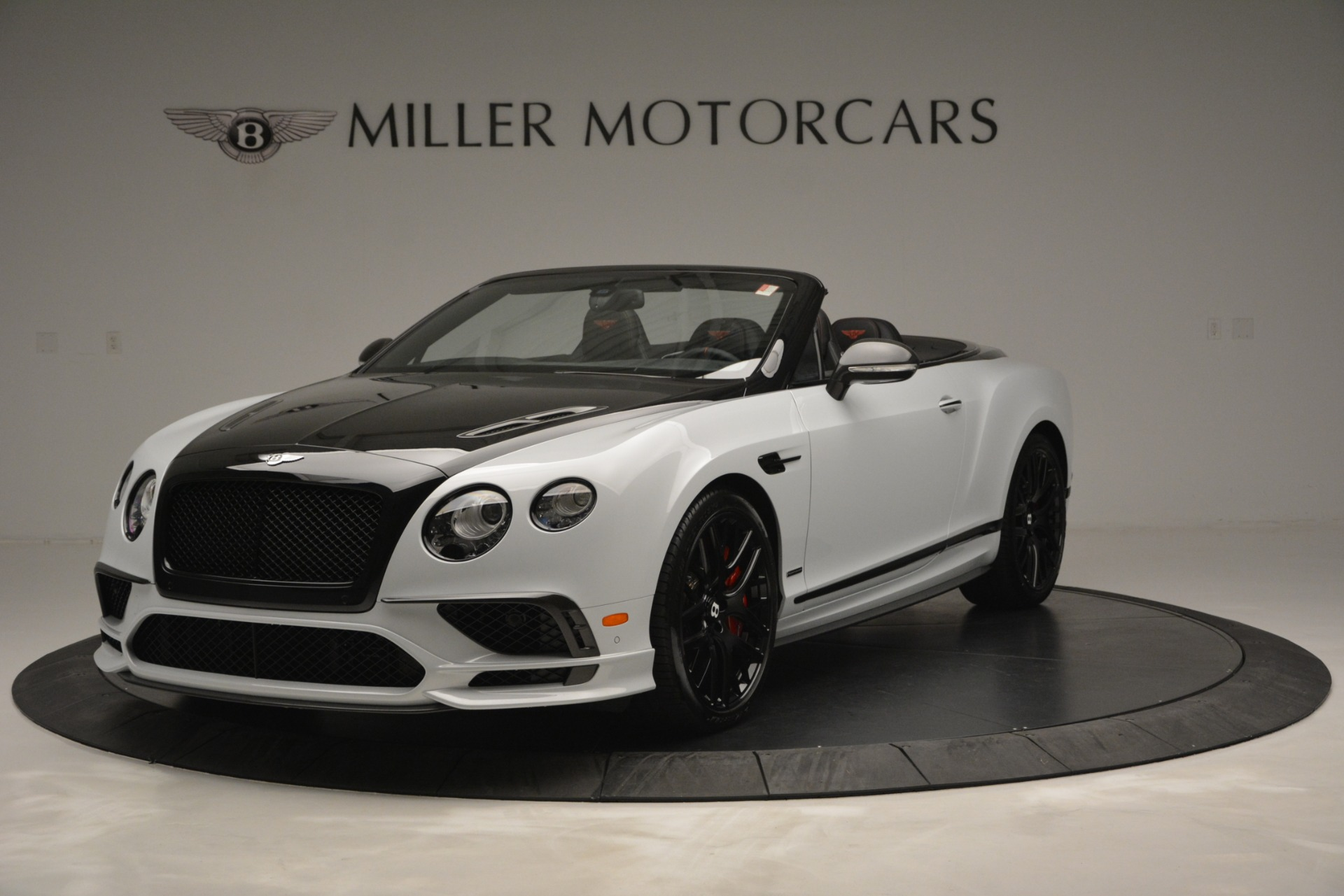 New 2018 Bentley Continental GT Supersports Convertible for sale Sold at McLaren Greenwich in Greenwich CT 06830 1