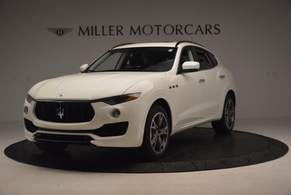 New 2017 Maserati Levante S Q4 for sale Sold at McLaren Greenwich in Greenwich CT 06830 1