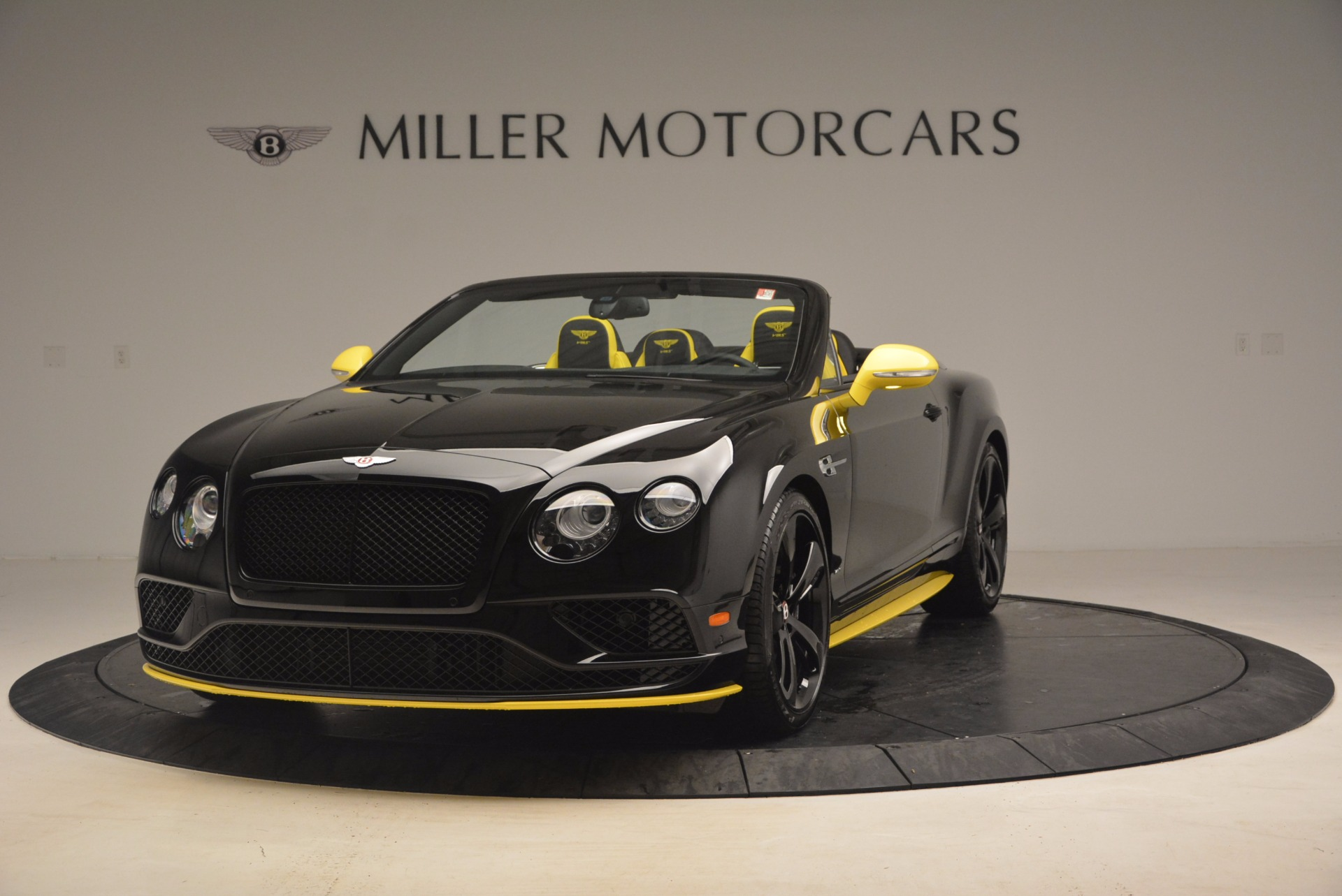 New 2017 Bentley Continental GT V8 S Black Edition for sale Sold at McLaren Greenwich in Greenwich CT 06830 1