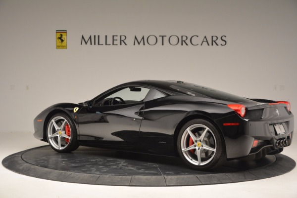 Used 2013 Ferrari 458 Italia for sale Sold at McLaren Greenwich in Greenwich CT 06830 4
