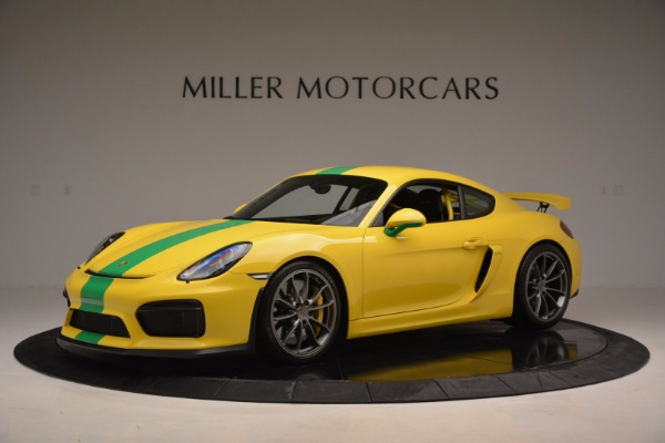 Used 2016 Porsche Cayman GT4 for sale Sold at McLaren Greenwich in Greenwich CT 06830 2