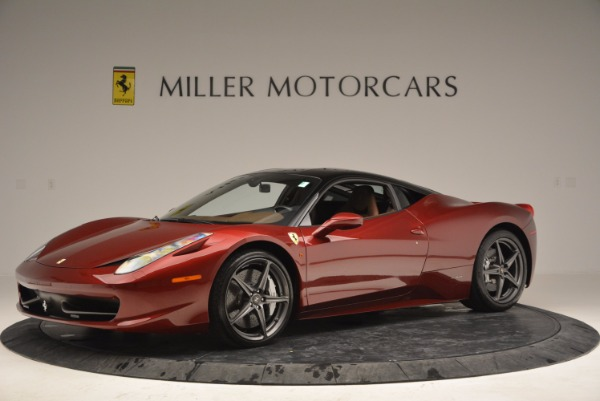 Used 2011 Ferrari 458 Italia for sale Sold at McLaren Greenwich in Greenwich CT 06830 2