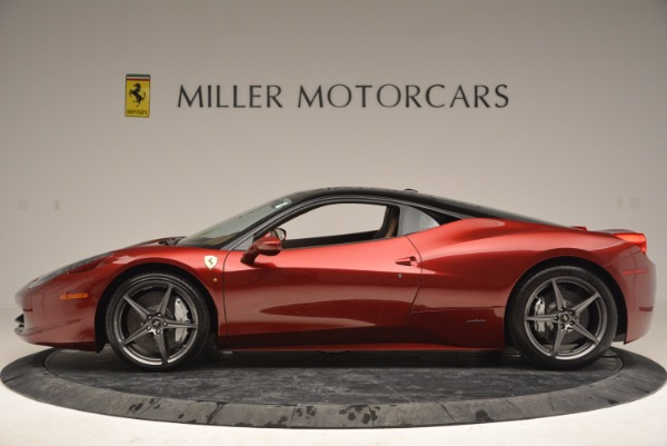 Used 2011 Ferrari 458 Italia for sale Sold at McLaren Greenwich in Greenwich CT 06830 3