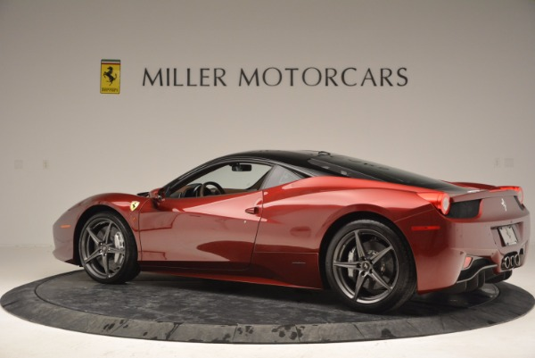 Used 2011 Ferrari 458 Italia for sale Sold at McLaren Greenwich in Greenwich CT 06830 4
