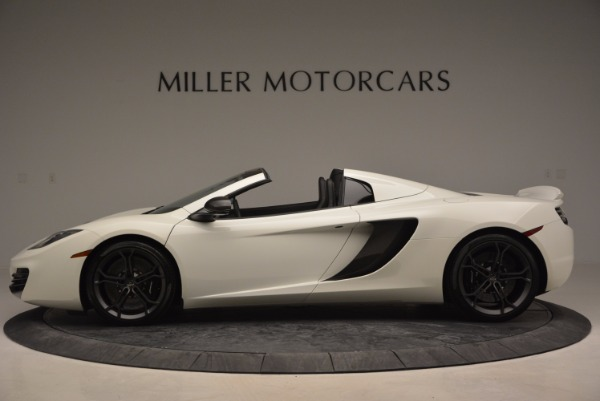 Used 2014 McLaren MP4-12C Spider for sale Sold at McLaren Greenwich in Greenwich CT 06830 3