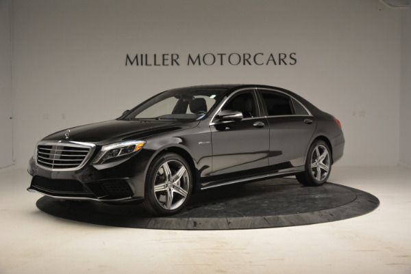 Used 2014 Mercedes Benz S-Class S 63 AMG for sale Sold at McLaren Greenwich in Greenwich CT 06830 2