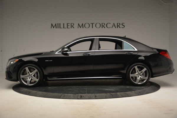 Used 2014 Mercedes Benz S-Class S 63 AMG for sale Sold at McLaren Greenwich in Greenwich CT 06830 3