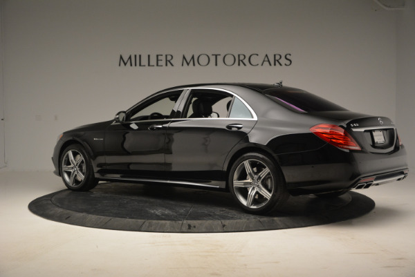 Used 2014 Mercedes Benz S-Class S 63 AMG for sale Sold at McLaren Greenwich in Greenwich CT 06830 4