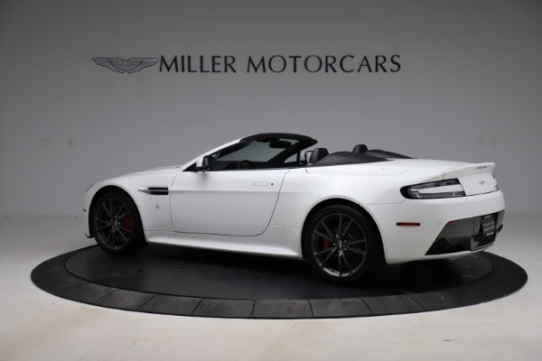 New 2015 Aston Martin Vantage GT GT Roadster for sale Sold at McLaren Greenwich in Greenwich CT 06830 3
