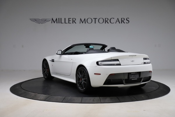 New 2015 Aston Martin Vantage GT GT Roadster for sale Sold at McLaren Greenwich in Greenwich CT 06830 4