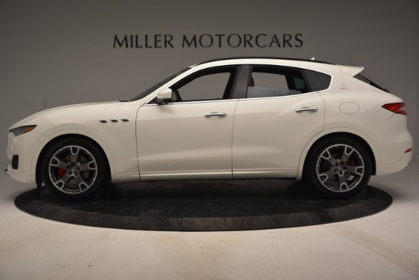 Used 2017 Maserati Levante Q4 for sale Sold at McLaren Greenwich in Greenwich CT 06830 3