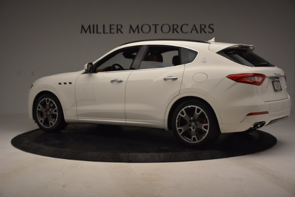 Used 2017 Maserati Levante Q4 for sale Sold at McLaren Greenwich in Greenwich CT 06830 4