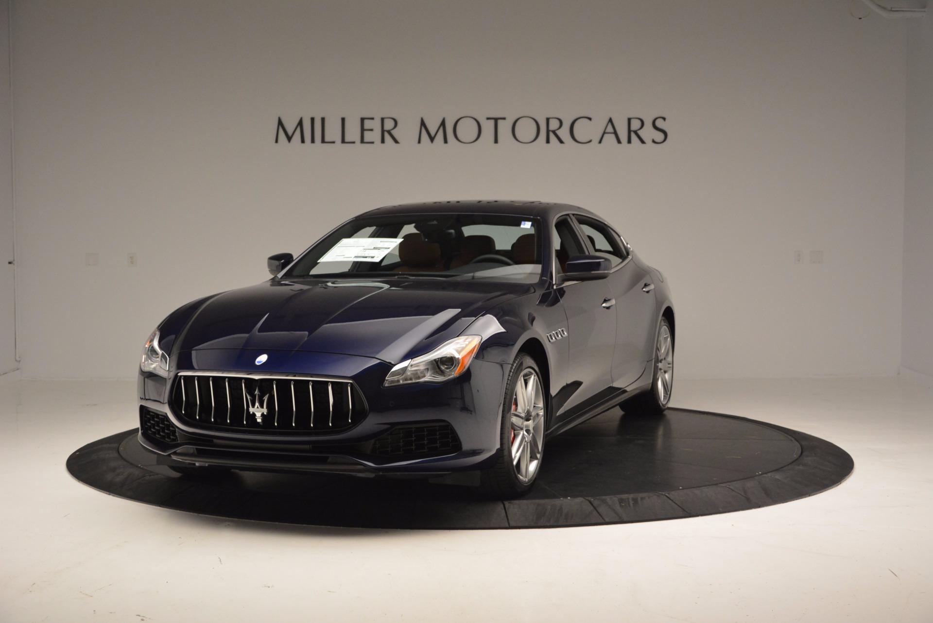 New 2017 Maserati Quattroporte S Q4 for sale Sold at McLaren Greenwich in Greenwich CT 06830 1