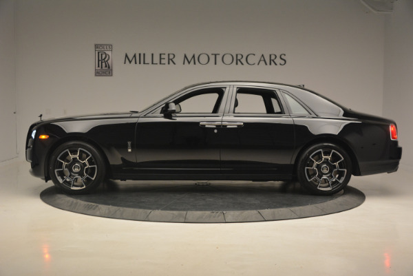 New 2017 Rolls-Royce Ghost Black Badge for sale Sold at McLaren Greenwich in Greenwich CT 06830 3