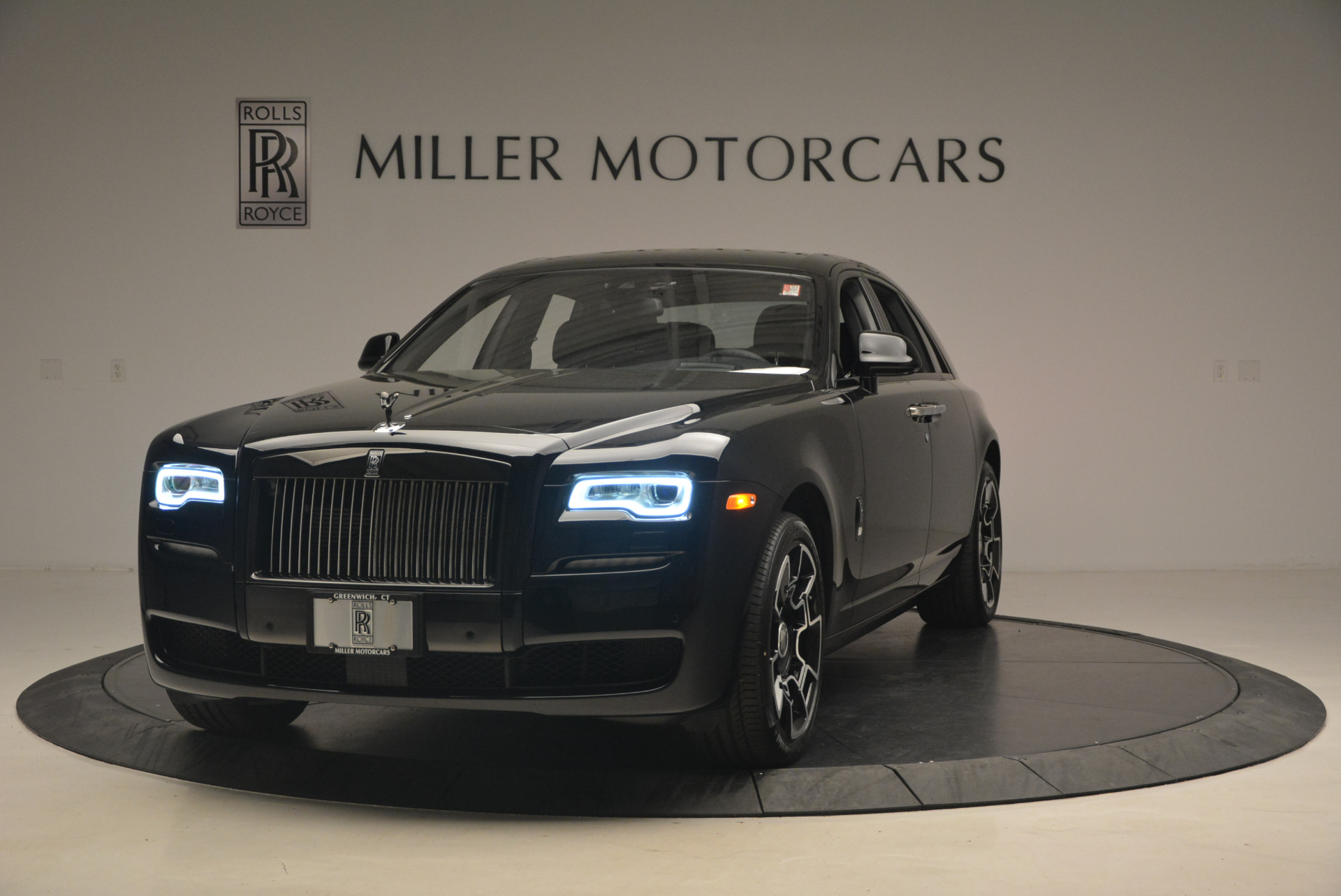 New 2017 Rolls-Royce Ghost Black Badge for sale Sold at McLaren Greenwich in Greenwich CT 06830 1